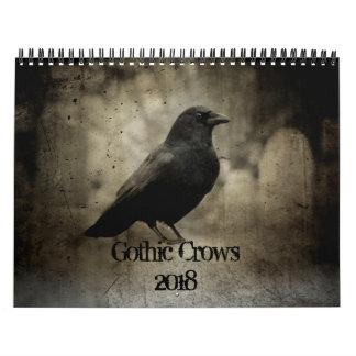 Corneilles gothiques 2018 calendriers
