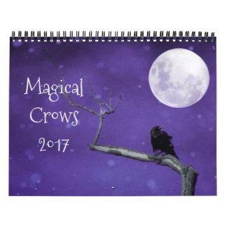 Corneilles magiques 2017 calendrier