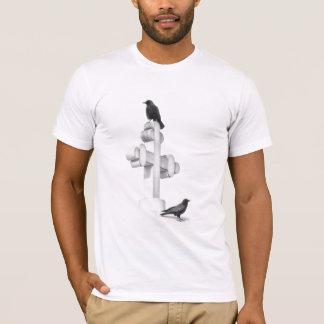 Corneilles sur la croix t-shirt