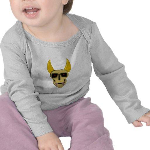 Cornes démon crâne demon skull corne t-shirt