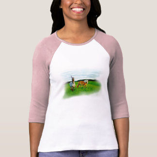 Cornes des t-shirt