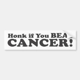 Cornez si vous battiez le Cancer ! - Adhésif pour  Autocollant Pour Voiture