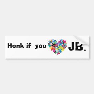 Cornez si vous le jb <3 autocollant de voiture