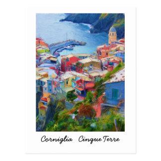 Corniglia Cinque Terre Italie Carte Postale