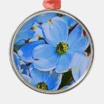 Cornouiller bleu décorations pour sapins de noël