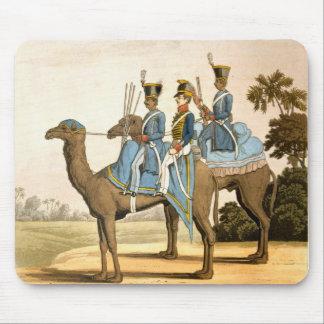 Corps de Rocket et corps de dromadaire, armée 1817 Tapis De Souris