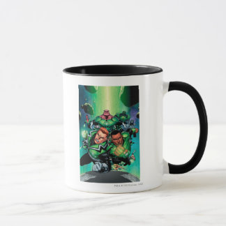 Corps verts de lanterne mug