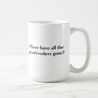 Correcteurs d'épreuves mug