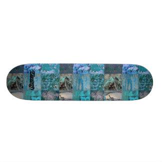 Correction bleue de rue de Zizzago de planche à Plateaux De Skateboards Customisés