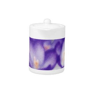Correction de fleur de crocus de lavande