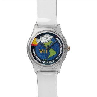 Correction de mission d'Apollo 7 Montres