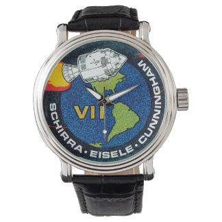 Correction de mission d'Apollo 7 Montres Bracelet