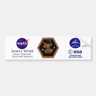 Correction du télescope spatial CSA de James Webb Autocollant De Voiture