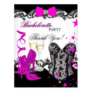 Corset Champagne de rose de dentelle de Bacheloret Carte Postale