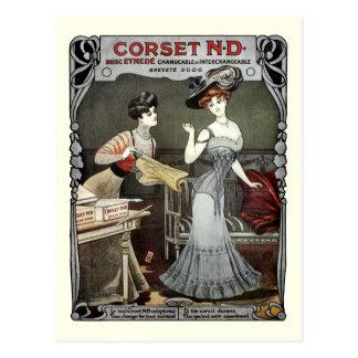 Corset N.D. - Carte postale