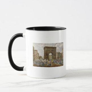 Cortège de pape Pius VII à Paris Mug