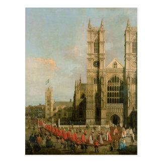 Cortège des chevaliers de Bath Cartes Postales