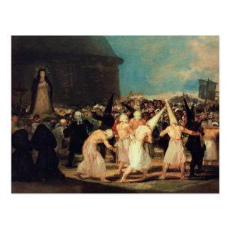 Cortège des Flagellants, 1815-19 Cartes Postales