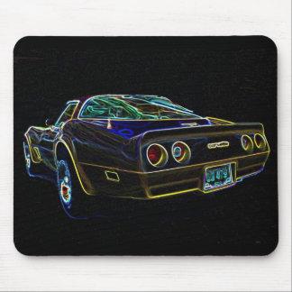 Corvette 1980 tapis de souris