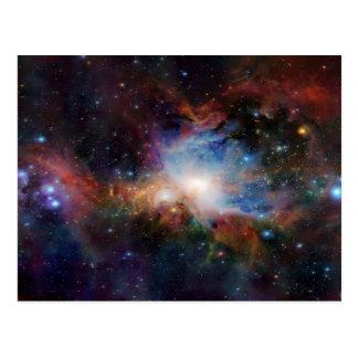 Cosmos de tourbillonnement carte postale