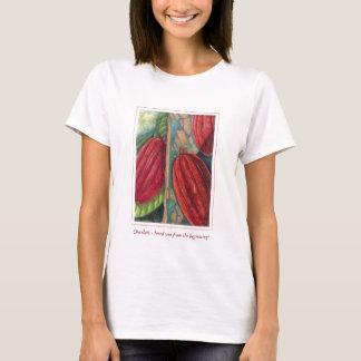 Cosses de cacao t-shirt