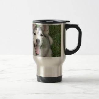 Costaud heureux mug de voyage