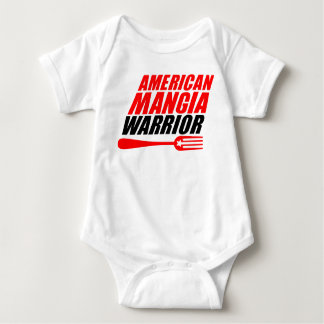 Costume de corps de bébé de guerrier de Mangia Body