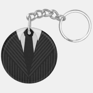 Costume de filet et porte-clés bilatéraux ronds de