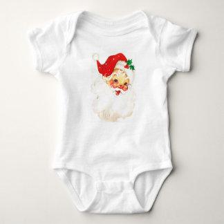 Costume de sommeil de bébé de barboteuse de Noël