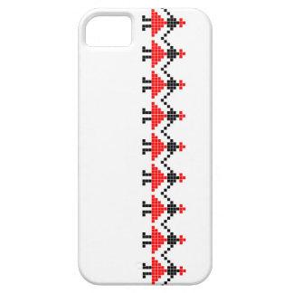 costume géométrique floral ethnique folklorique de coque iPhone 5