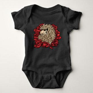 Costume grincheux de bébé de hérisson