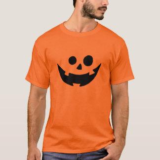 Costume heureux de visage de citrouille t-shirt