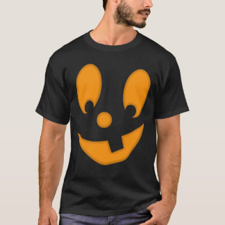 Costume idiot de Halloween de visage de T-shirt
