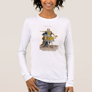 """Costume pour Apollo dans l'opéra """"Phaethon"""", T-shirt À Manches Longues"""