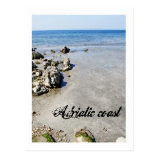 Côte adriatique cartes postales