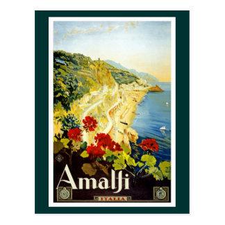 Côte d'Amalfi, Italie Carte Postale