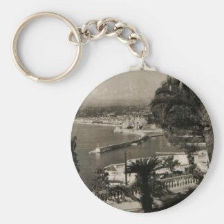 "COTE D'AZUR - Nice DES Anglais"" 1950 ""de promenade Porte-clés"
