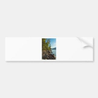 Côte de Teton de lac jenny Autocollant De Voiture