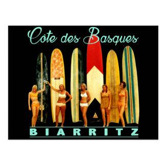 Côte des Basques Biarritz Carte Postale
