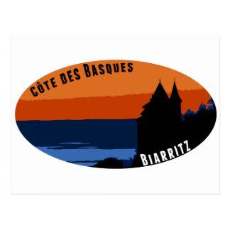 Côte des Basques Biarritz Cartes Postales