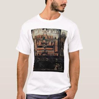 Côté droit de diptyque montrant le Parlement T-shirt