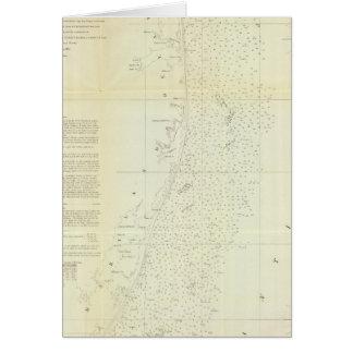 Côte du Delaware, le Maryland, pinte de la Carte De Vœux