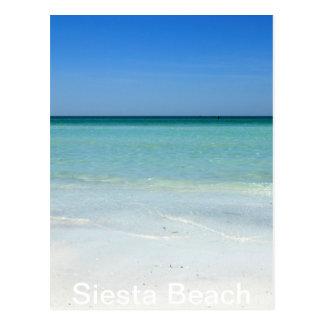 Côte du Golfe de plage de sièste Carte Postale