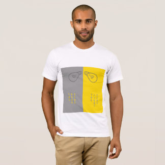 Côté léger du côté en noir v/s t-shirt