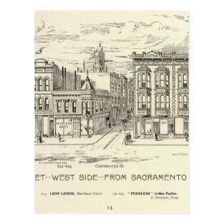 Côté Ouest de Kearny, de Sacramento et d'argile Carte Postale