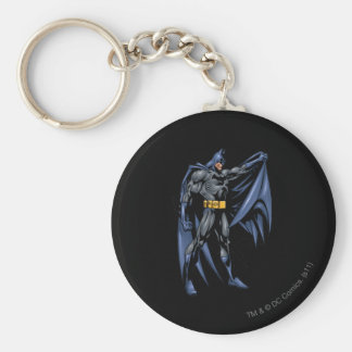 Côté polychrome de Batman Porte-clef
