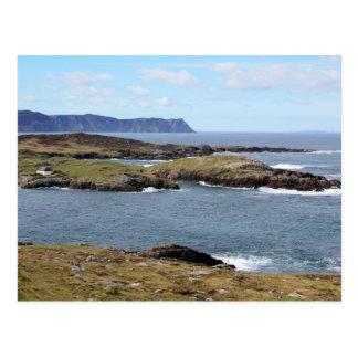Côte rocailleuse du Donegal, cartes postales de