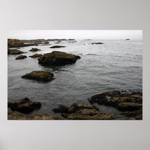 Côte rocheuse affiches