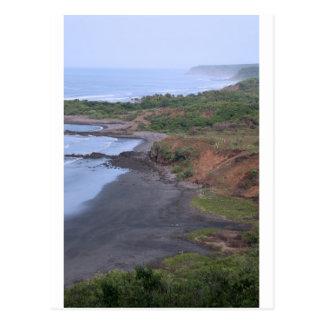 Côte tropicale idyllique Salvador Carte Postale