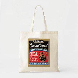 Coton 100% de thé Fourre-tout Sac De Toile